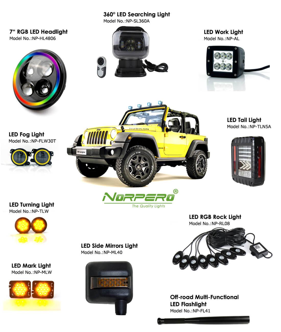 Jeep led ligths